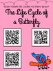 Animal Life Cycle QR codes for Reading and Science Centers