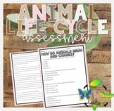 Animal Life Cycle Test
