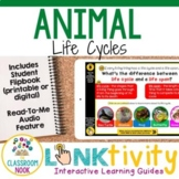 Animal Life Cycles LINKtivity® | Interactive Learning Guid