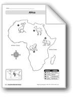 Animal Life Maps: Africa