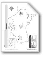 Animal Life Maps: Australia