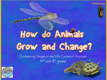Animal Lifecycles PowerPoint and Student Interactive Notebook Lesson