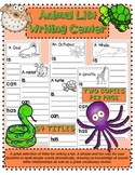 Animal List Writing Center Kindergarten First Grade