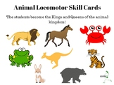 Animal Locomotor Skills Cards