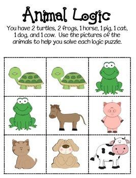 Animal Logic Puzzles