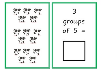 Animal Lots (5 Times Table)