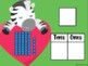 Animal Love Tens and Ones (Great for Google Classroom!)