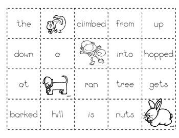 Animal Making Sentences