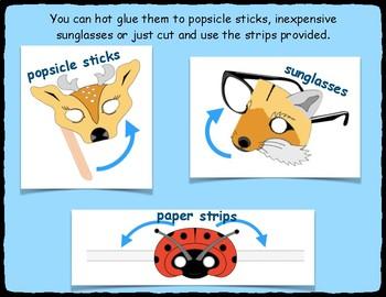 Animal Mask Templates