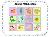 Animal Match Game