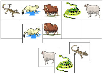 Animal Match-Up and Memory