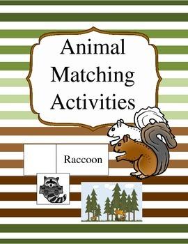 Animal Matching Activities