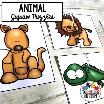 Animal Matching Jigsaws