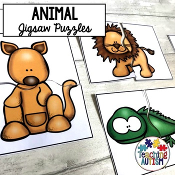 Animal Matching Jigsaws