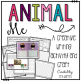 Animal Me: A writing and craft activity