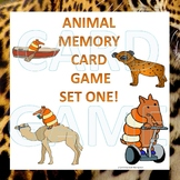 Animals: Memory Game (Set One)