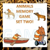 Animals: Memory Game (Set Two)