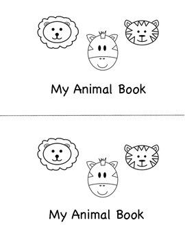 Animal Mini Book