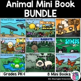 Animal Mini Book Bundle - Eagles, Bees, Butterflies, Bears