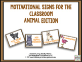 Motivational Signs - Animal Theme