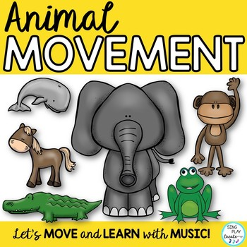 "Animal Movement Activity Song: ""I Want to Move Like an Animal"" Video, Mp3 Tracks"