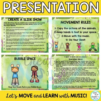 """Animal Movement Activity Song: """"I Want to Move Like an Animal"""" Video, Mp3 Tracks"""