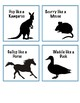 Animal Movement Cards or Dice