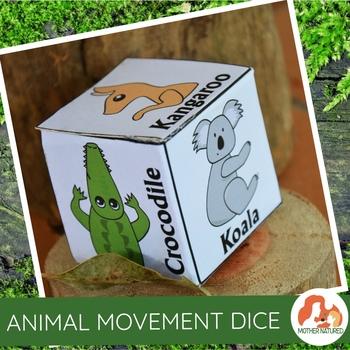 Animal Movement Dice