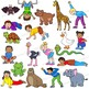 Animal Movement - Kids in Animal Poses | Clip Art Kids