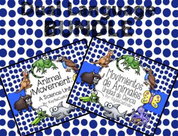 Animal Movement - Movimientos de Animales: Dual Langauge Bundle