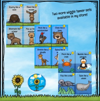 Animal Movement / Wiggle Tamers for Preschoolers