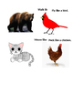 Animal Movement and Sound Cards