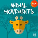 Animal Movements   Build Motor Skills   Physical Education Classroom Slideshow
