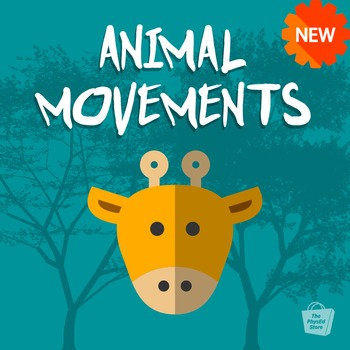 Animal Movements | Build Motor Skills | Physical Education Classroom Slideshow