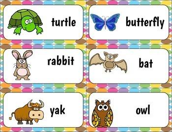 Animal Sorting Cards and Activities For Pre-K To Kindergarten Kids