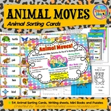 Animal Sorting Cards and Activities For Pre-K To Kindergarten Kids