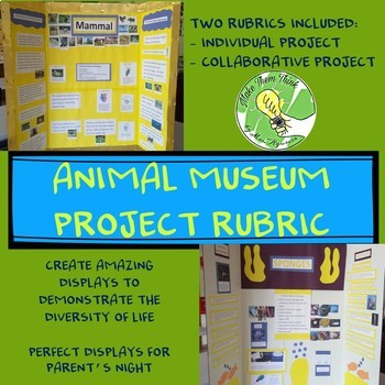 Animal Museum Rubric- For Collaboration or Individual Projects