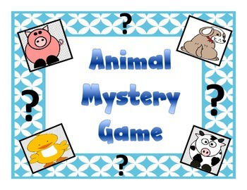 Animal Mystery Game