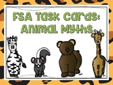 Animal Myth Task Cards: FSA Test Prep