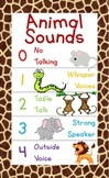"""Animal Noises"" Noise Level Chart"