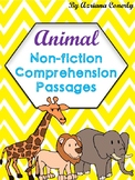 Animal Nonfiction Comprehension Passages