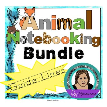 Animal Notebooking Paper with Guide Lines - Growing Bundle!