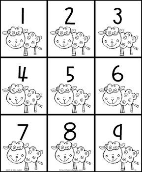 Animal Number Line Mystery by Kim Adsit