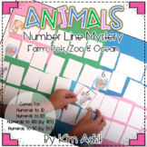 Animal Number Line Mystery by Kim Adsit