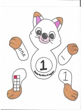 Animal Number Matching 1-20