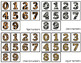 Animal Number Matching Folder Games for Early Childhood Sp