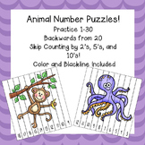Back to school math / Number Puzzles / Learning numbers / Counting Practice