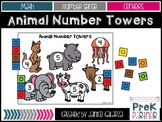Animal Number Towers