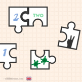 Animal Numbers Puzzles 1 to 10⎜Number Match Game⎜ Puzzles⎜