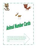 Animal Numbers Set